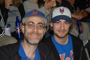 2007 Bob & Robbie at Shea