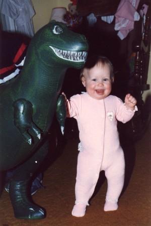 Kate Dinosaur 1986