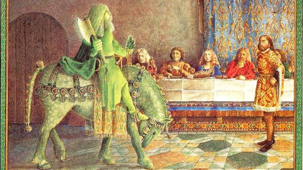 The juniors are just wrapping up their study of Sir Gawain and the Green Knight, which they liked well enough.