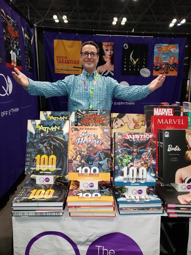 With two new books in 2019, it felt like a cause for celebration at NYCC in October.